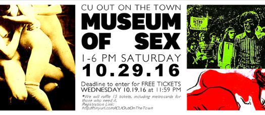 LGBTQ @ Columbia's CU Out on the Town: Museum of Sex