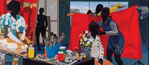 Café Columbia | Kerry James Marshall: Mastry
