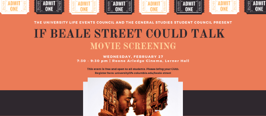 If Beale Street Could Talk Movie Screening