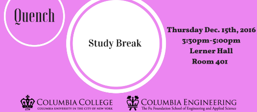 LGBTQ @ Columbia's Quench: Study Break