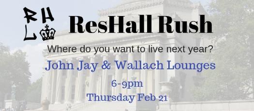 ResHall Rush