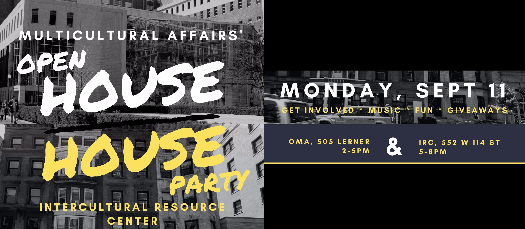 Multicultural Affairs' Open House | House Party