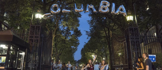 Welcome the Class of 2022 Through the Gates / Columbia College Young Alumni