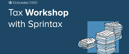Tax Workshop for International Students & Scholars